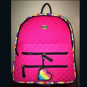 JUST ⬇️ BETSEY JOHNSON BACKPACK 🌈 💗